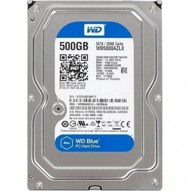 Ổ cứng PC HDD Western Digital Blue 500GB - 32MB Cache