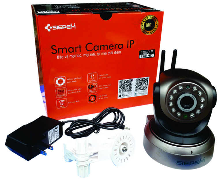 Camera IP Wifi SIEPEM S2018 HD720P